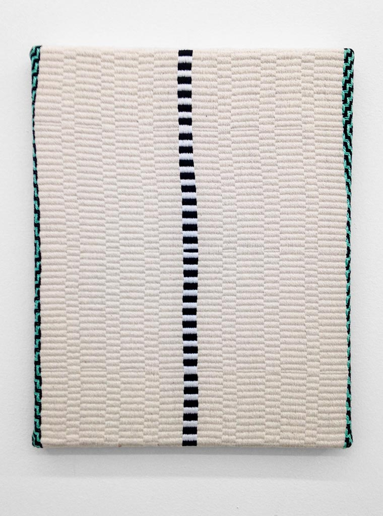 Samantha Bittman, Untitled, 2014, Hand-woven textile