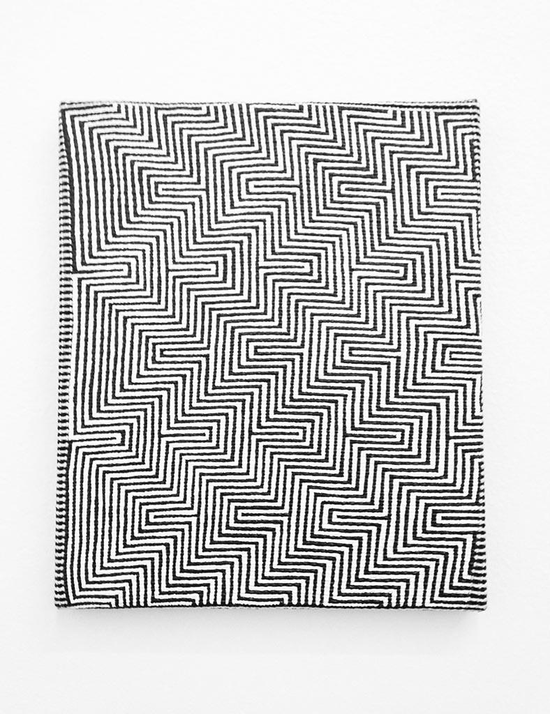 Samantha Bittman, Untitled (zig zag), 2014