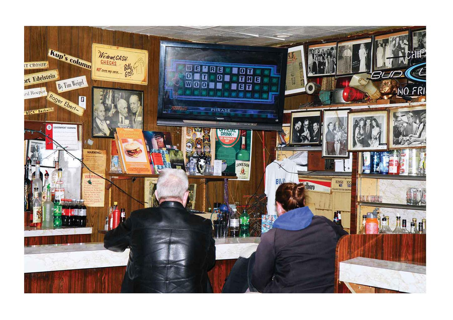 Billy Goat Tavern (2014), 30 x 20H inches, edition 3+2AP
