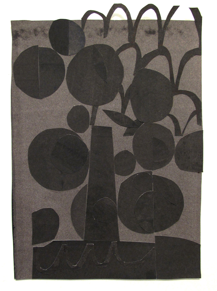 Orchard, 2015, graphite on paper