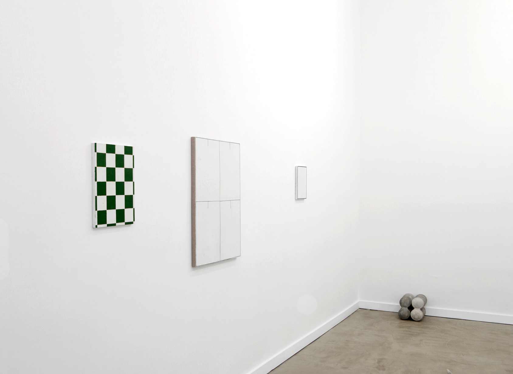 Installation view, Autoportrait