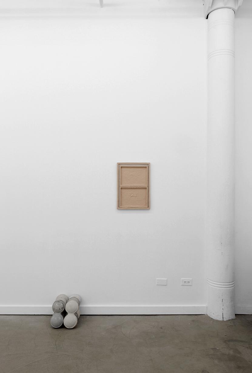 Installation view, Autoportrait