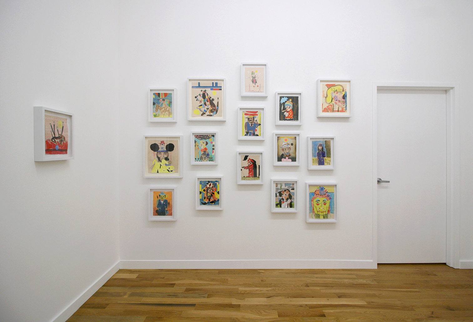 Time Will Darken It, installation view
