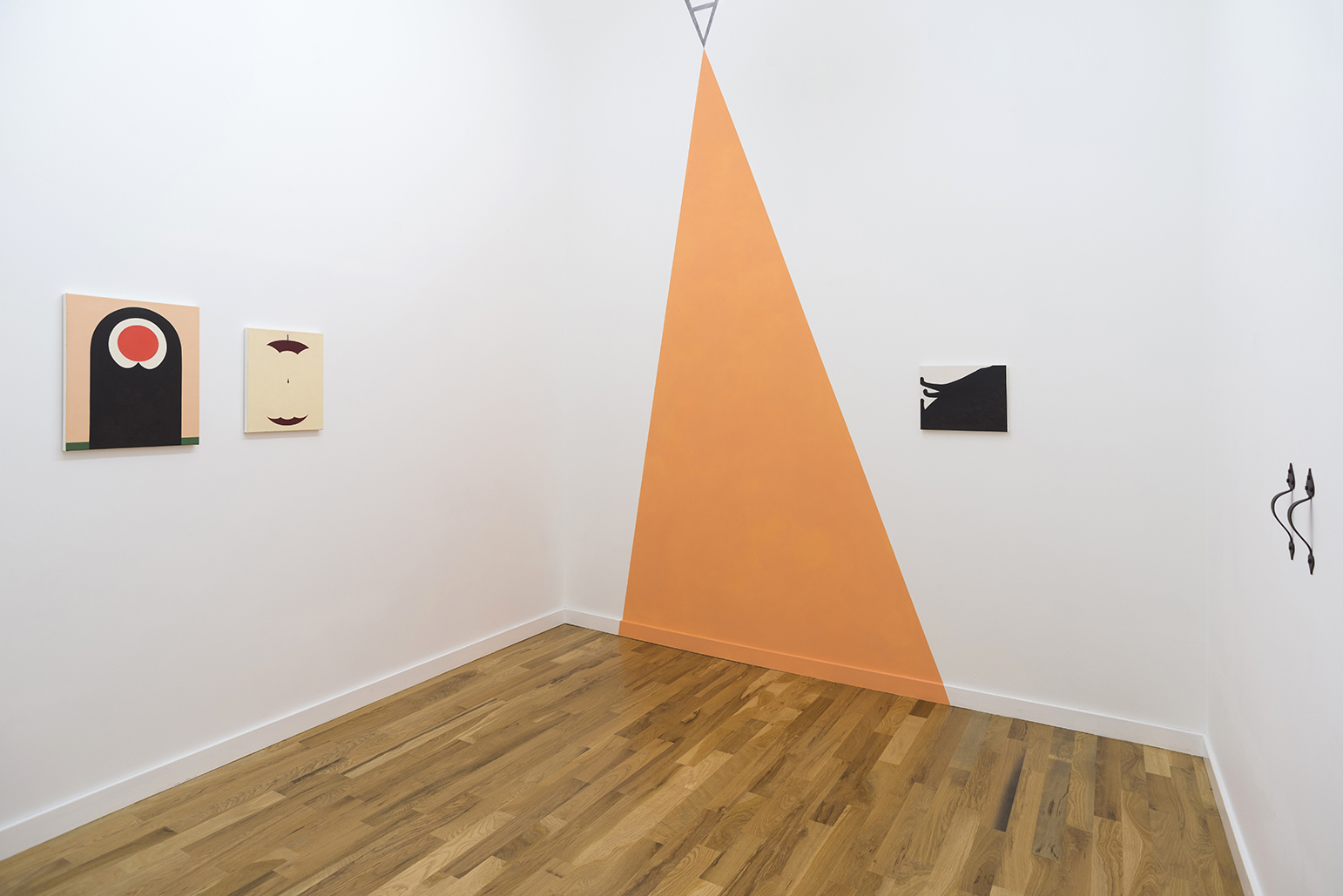 Alice Tippit, Bad Form, installation view