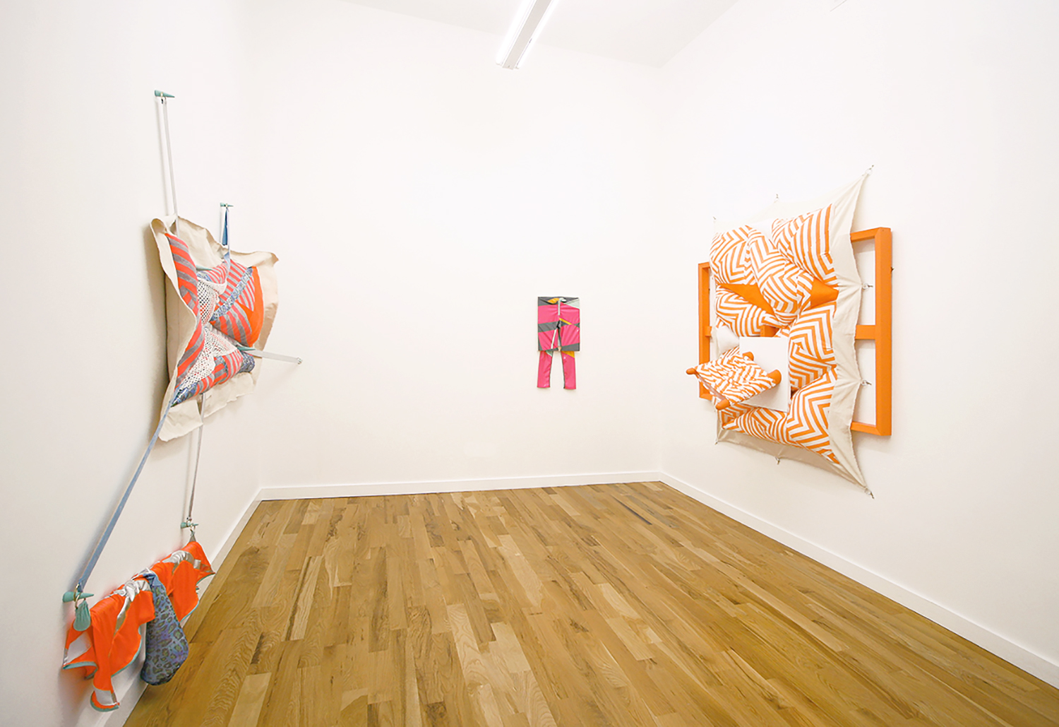 It Gets Lonely in My Little Box, installation view