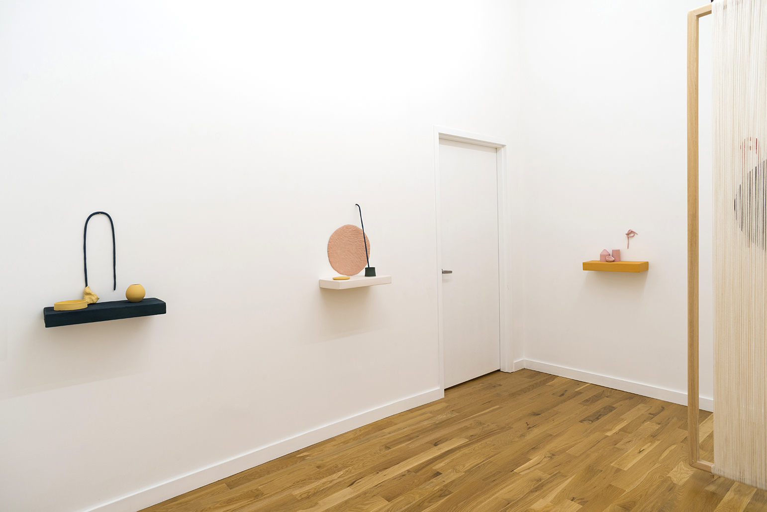 Installation view, Bit by Bit Above the Edge of Things