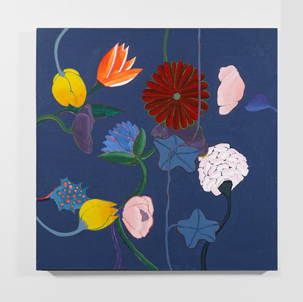 Haeckel's Index, 2018, acrylic on canvas, 24 x 24 inches
