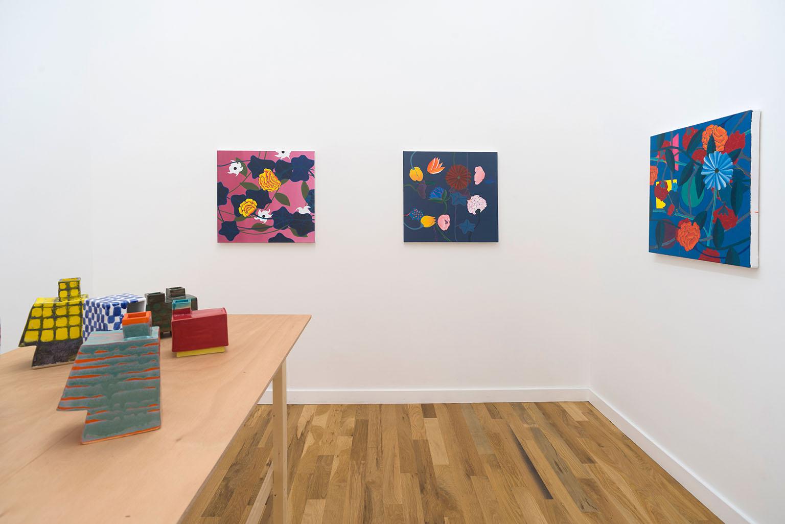 Pamela Fraser, installation view