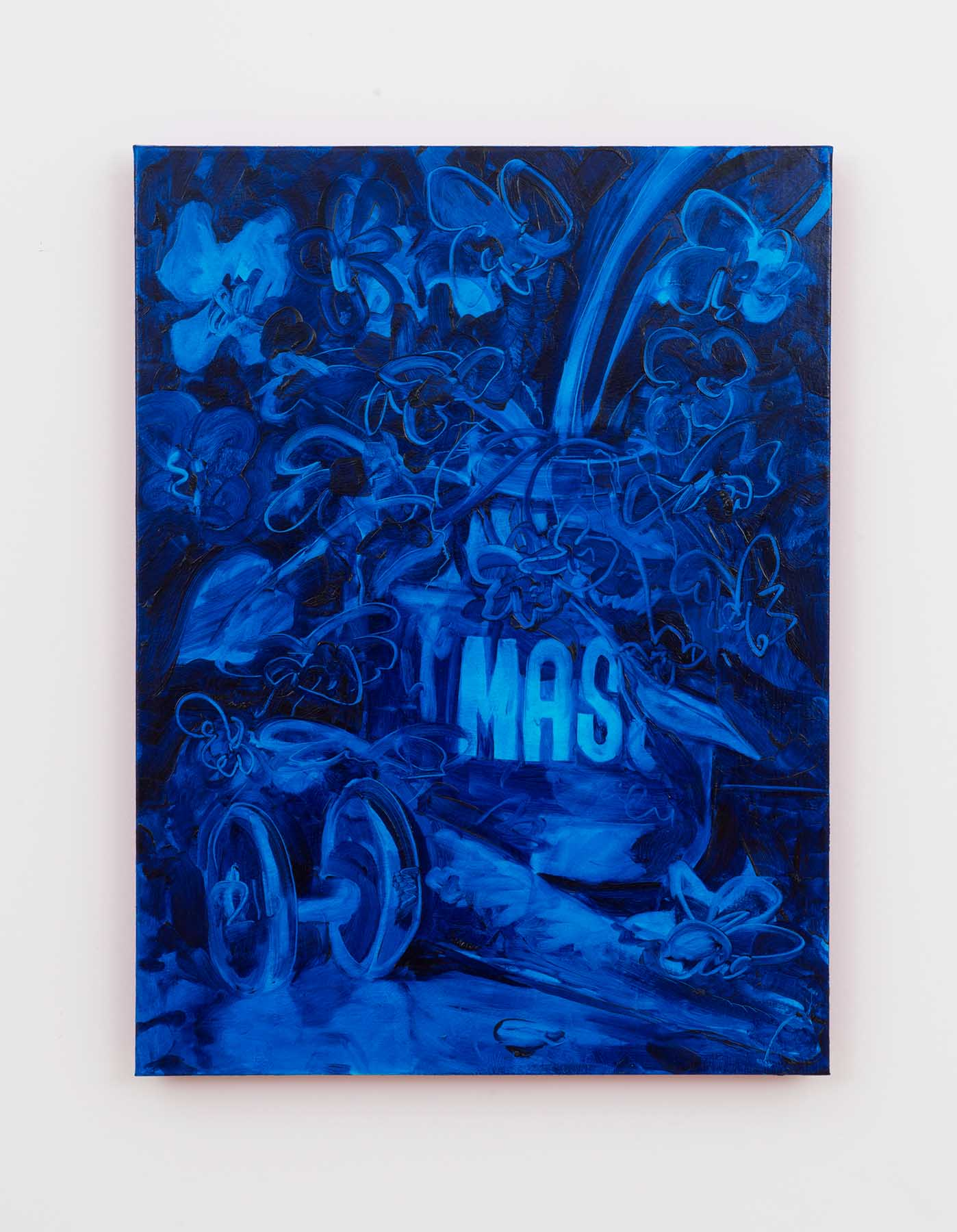 Amadeo Morelos, Club MASS, 2019, 18h x 24w in