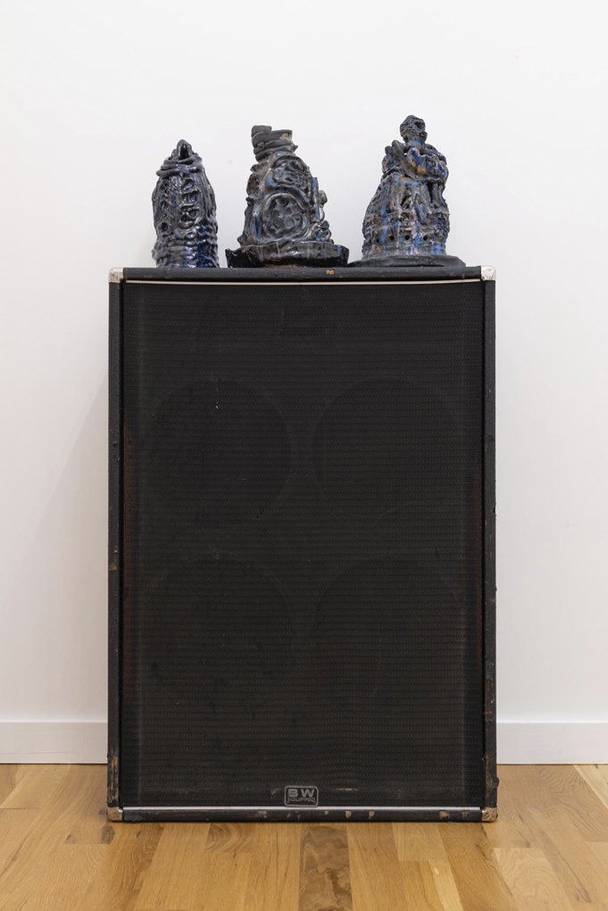 Three talismans (Black Tolex)